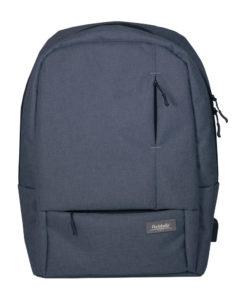 Рюкзак Portobello с USB разъемом, Migliores, 460х362х111 мм, серый/бирюза