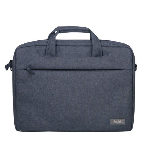 Сумка Portobello для ноутбука, Migliores, 355х425х60 мм, серый/серый