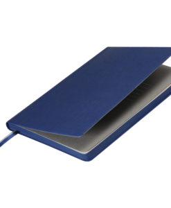 Ежедневник недатированный, Portobello Trend, Rain, 145х210, 256 стр, синий(стикер,серый форзац,насыщ.синий.срез)
