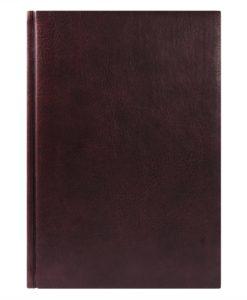 Ежедневник недатированный Vegas 145х205 мм, без календаря, бордовый