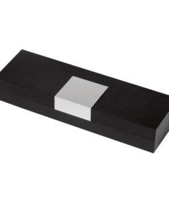 Коробка подарочная, футляр, пластик, с алюминиевой вставкой, для 1 ручки