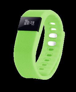Смарт браслет («умный браслет») Portobello Trend, The One, электронный дисплей, браслет-силикон, 240x20x10 мм, зеленый