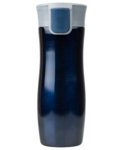 Термокружка вакуумная герметичная Portobello, Lavita, 450 ml, покрытие металлик, синяя