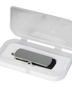 USB Флешка Portobello, Elegante, 16 Gb, Toshiba chip, Twist, 57x18x10 мм, черный, в подарочной упаковке