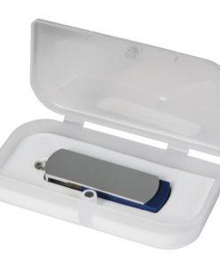 USB Флешка Portobello, Elegante, 16 Gb, Toshiba chip, Twist, 57x18x10 мм, синий, в подарочной упаковке
