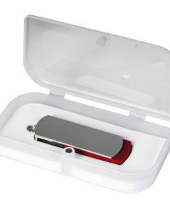 USB Флешка Portobello, Elegante, 16 Gb, Toshiba chip, Twist, 57x18x10 мм, красный, в подарочной упаковке