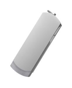 USB Флешка Portobello, Elegante, 16 Gb, Toshiba chip, Twist, 57x18x10 мм, серый